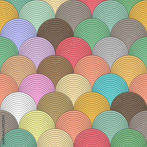 Seamless abstract geometric pattern. - 118212453