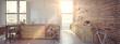 Modern Design Luxurious Kitchen Interior. 3d rendering