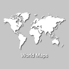 Earth, Map, Location, Review, GPS, Navigator, with the shadow of the Earth