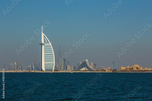Foto op Canvas Dubai luxury hotel Burj Al Arab