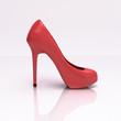 3D rendering of a pred high heel