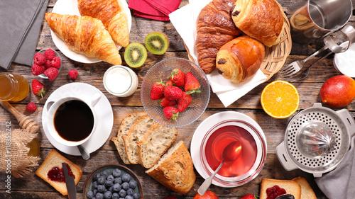 composition of breakfast © M.studio