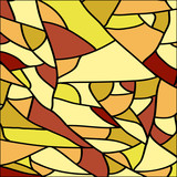 Naklejka Stained glass texture, background vector