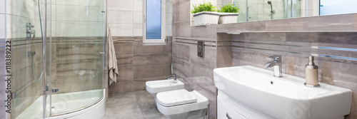 Luxury design bathroom Poster