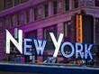 New York signage