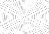 Dotted Circular Background Pattern - Abstract Illustration, Vector