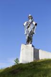 Statue of Juraj Janosik, legendary historical Hero, Terchova, Slovakia
