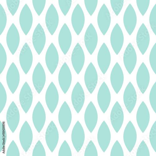 Materiał do szycia Niebieski kropli wektor wzór geometryczny.