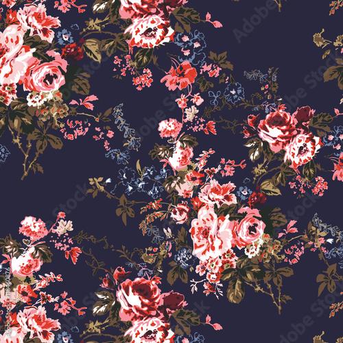Floral print pattern - 118460876