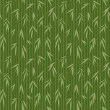 modèle avec du bambou