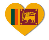heart flag sri lanka