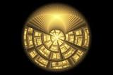fractal Golden ball