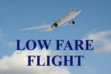 Low Fare Flight - business concept