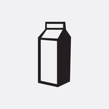 Milk icon illustration