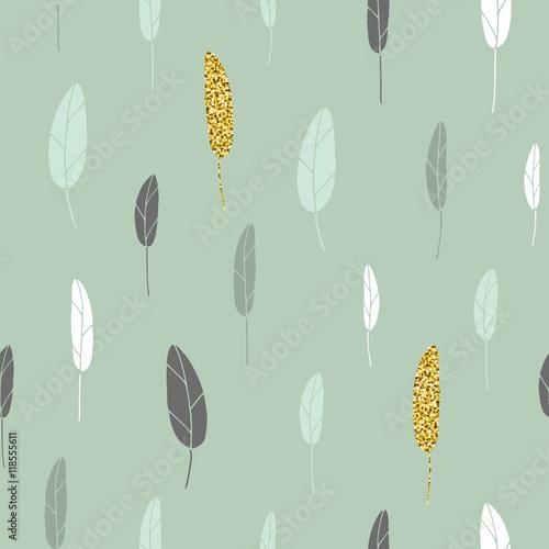 Leaf pattern. - 118555611