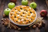 Fototapety Homemade apple pie