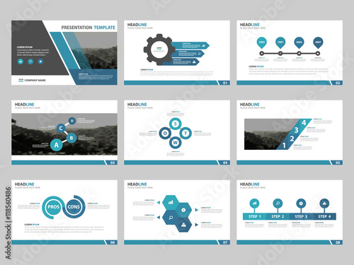 Blue abstract presentation templates infographic elements template blue abstract presentation templates infographic elements template flat design set for business proposal brochure flyer thecheapjerseys Image collections