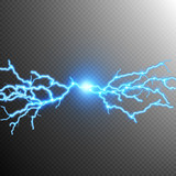 Fototapety Abstract lightning storm background. EPS 10
