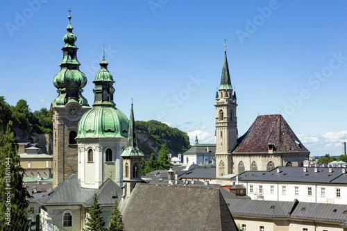 Poster City Salzburg in Austria