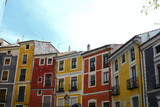 Colourful houses in Cuenca, Spain