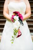 Fototapety Braut mit Brautstrauß