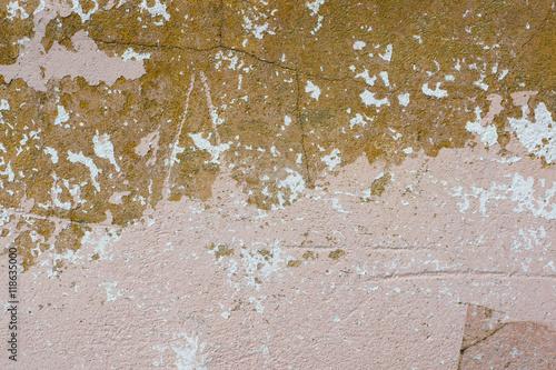 Zdjęcia na płótnie, fototapety, obrazy : Peeling red and pink paint  wall