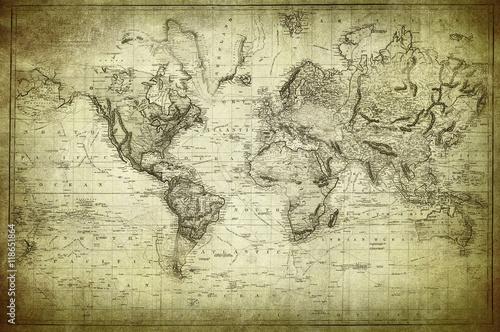 vintage-mapa-swiata