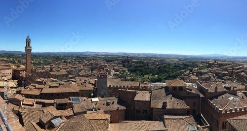 Fototapeta Panoramica Siena
