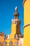 "Palacio de  pena, sintra Portugal Europa 118825818,Thoughtful man looking away while sitting at terrace"""