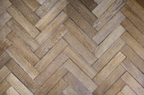 light old oak flooring, wooden floor, old wooden parquet - 118673242