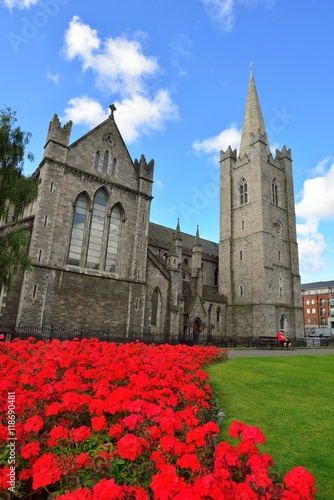 Poster Saint Patrick's Cathedral in Dublin