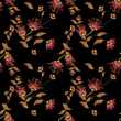 Seamless floral pattern background, flowers ornament wallpaper I