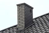 chimney on roof - 118704228