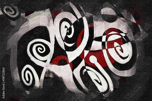 Plakat abstract color design art illustration