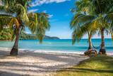 Fototapety Beautiful tropical island beach, Koh Kood island Thailand