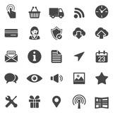 Web Icons. Black Series