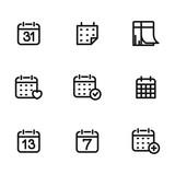 Calendar vector icons
