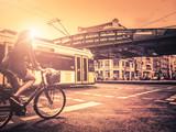 jazda na rowerze w mieście