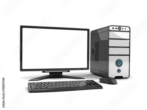 Computer view front