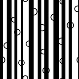 Line and circle chaotic seamless pattern 60.08