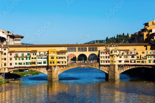 Obraz na Plexi Ponte Vecchio in Florence, Italy