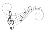 Music notes.  - 118858671