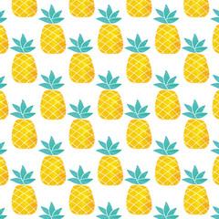Pattern of pineapple, Cute pineapple pattern.