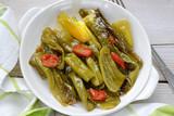 piatto di peperoni friggitelli