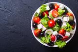 Photo of fresh greek salad - 118907035