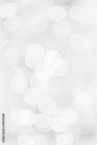 abstract background black and white bokeh circles for background
