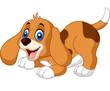 Cute little dog cartoon - 118939400