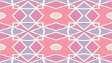 Seamlessly loopable scrolling  pastel colored geometrical pattern