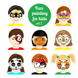 Fototapety Face painting 8