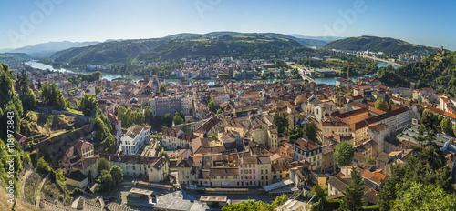Foto op Plexiglas Wenen Vienne sur Rhône/panorama de Vienne